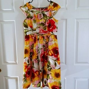 Robbie Bee summer print dress 8